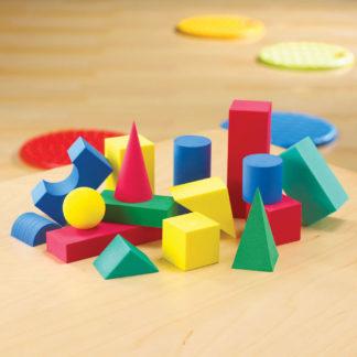 RVFM Geometric Foam Solids - Pack of 36