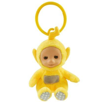 Teletubbies Clip on Soft Toy - Laa Laa