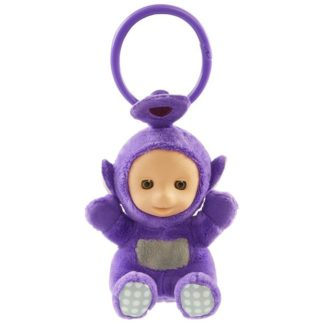 Teletubbies Clip on Soft Toy - Tinky Winky