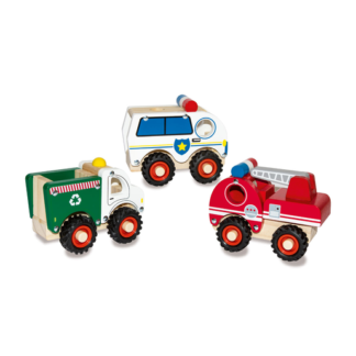 Woodlets Chunky Vehicles (One Supplied)