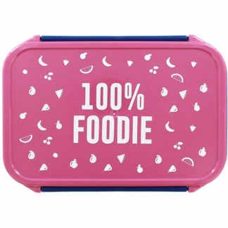 Product shot 100 Percent Foodie Lunch Box