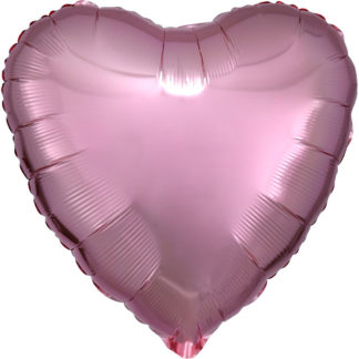 Product shot 18 Inch Rose Gold Heart Helium Balloon