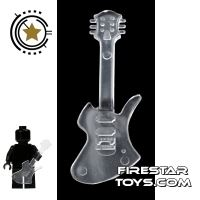 Product shot Amazing Armory -  Transparent Electric Guitar 4