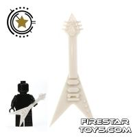 Product shot Amazing Armory - White Electric Guitar 2
