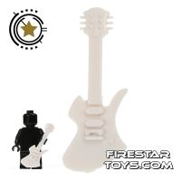 Product shot Amazing Armory - White Electric Guitar 4