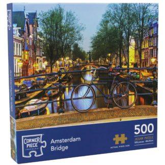 Product shot Amsterdam Bridge 500 Piece Jigsaw Puzzle