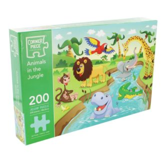 Product shot Animals In The Jungle 200 Piece Jigsaw Puzzle