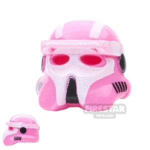 Product shot Arealight - AL Gunner Driver Helmet - Pink