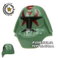 Product shot Arealight - Assault Shiv Helmet - Sand Green