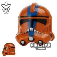 Product shot Arealight - Bow Trooper Helmet - Dark Orange