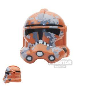 Product shot Arealight - Camo Trooper Helmet - Dark Orange