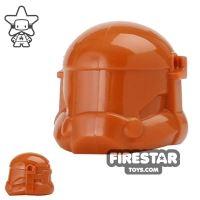 Product shot Arealight - Combat Helmet - Dark Orange