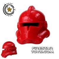 Product shot Arealight - Commander Helmet - Red