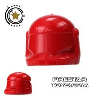 Product shot Arealight - Commando Helmet -  Red
