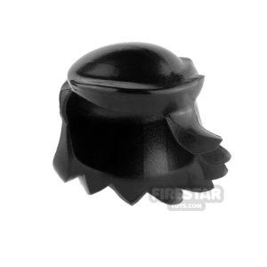 Product shot Arealight Mini Figure Hair - Breezy Hair - Black