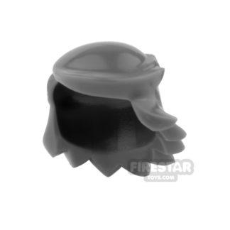 Product shot Arealight Mini Figure Hair - Breezy Hair - Dark Gray