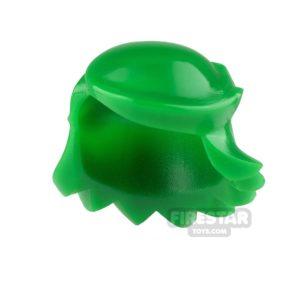 Product shot Arealight Mini Figure Hair - Breezy Hair - Green