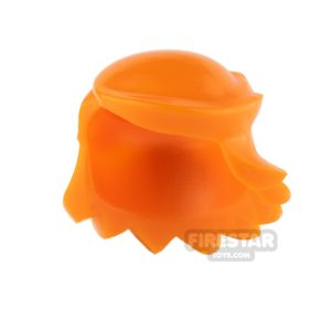 Product shot Arealight Mini Figure Hair - Breezy Hair - Orange