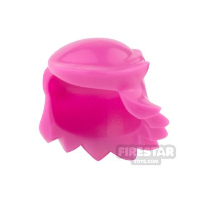 Product shot Arealight Mini Figure Hair - Breezy Hair - Pink