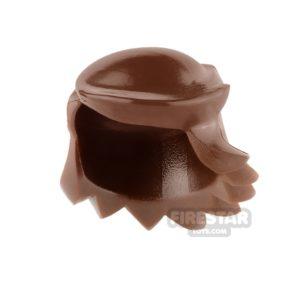 Product shot Arealight Mini Figure Hair - Breezy Hair - Reddish Brown