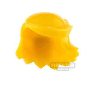 Product shot Arealight Mini Figure Hair - Breezy Hair - Yellow