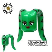 Product shot Arealight Mini Figure Heads - Green