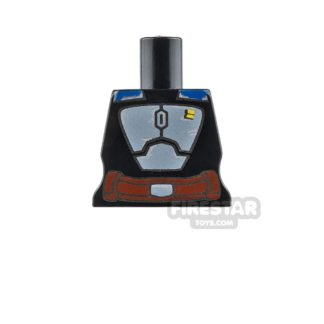 Product shot Arealight Mini Figure Torso - BO2 Suit - Black