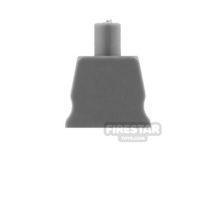 Product shot Arealight Mini Figure Torso - Plain - Dark Gray