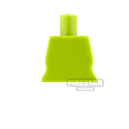 Product shot Arealight Mini Figure Torso - Plain - Lime