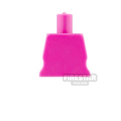 Product shot Arealight Mini Figure Torso - Plain - Pink