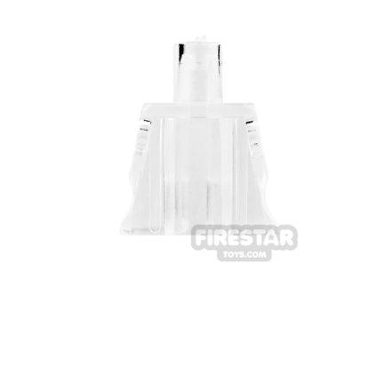 Product shot Arealight Mini Figure Torso - Plain - Trans Clear