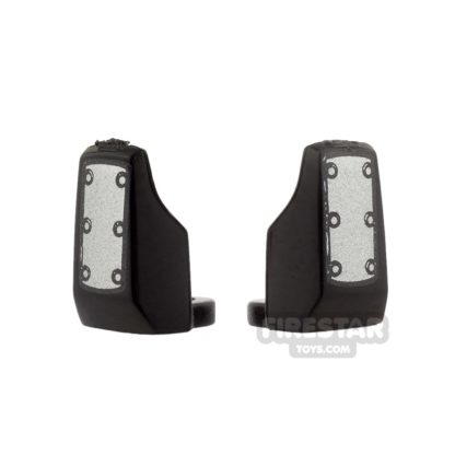 Product shot Arealight - Vambraces - Bolted - Pair - Black
