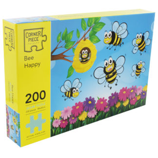 Product shot Bee Happy 200 Piece Jigsaw Puzzle