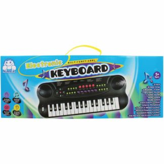 Product shot Black Electronic Keyboard