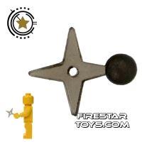 Product shot Brick Command - Ninja Star - Transparent Black