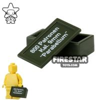 Product shot BrickForge - Ammo Case - Army Green - Parabellum