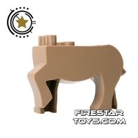 Product shot BrickForge Animals Mini Figure - Dark Tan Centaur