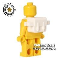 Product shot BrickForge - Backpack - White