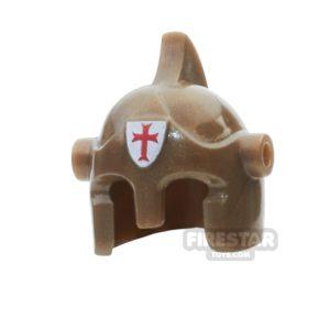 Product shot BrickForge - Battle Helmet - Bronze - Holy Judgement