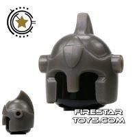 Product shot BrickForge - Battle Helmet - Gray