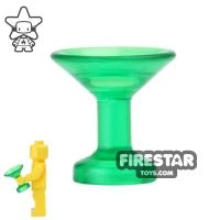 Product shot BrickForge - Champagne Sipping Glass - Trans Green