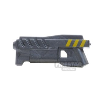 Product shot BrickForge - Coilgun - Steel With Yellow Stripes