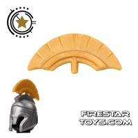 Product shot BrickForge - Commander Crest - Gold