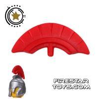 Product shot BrickForge - Commander Crest - Red