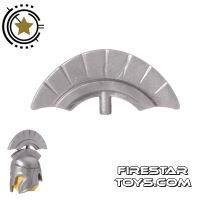 Product shot BrickForge - Commander Crest - Silver