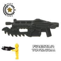 Product shot BrickForge - Gears of War - Shredder Gun - Black