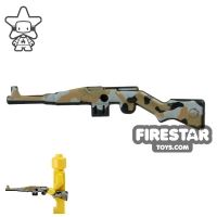 Product shot BrickForge - Gewehr 43 - RIGGED System - Black Camo