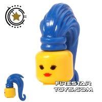Product shot BrickForge Hair - Ponytail - Blue
