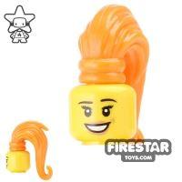 Product shot BrickForge Hair - Ponytail - Orange
