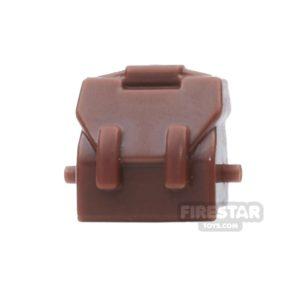 Product shot BrickForge - Haversack - Reddish Brown - RIGGED System